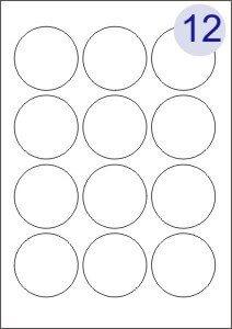 12 Labels Per Page