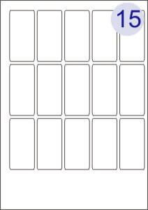 5 across x 3 down